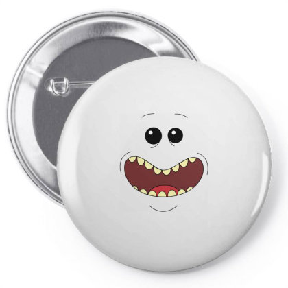 Mr.meeseeks Pin-back Button Designed By Schulz-12