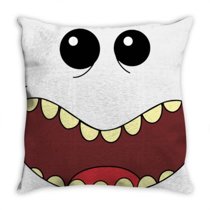 Mr.meeseeks Throw Pillow Designed By Schulz-12