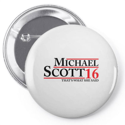 Michael Scott 2016 That's What She Said The Office Pin-back Button Designed By Schulz-12