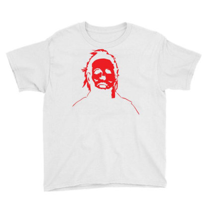 Michael Myers Baby Bodysuit Youth Tee Designed By Schulz-12