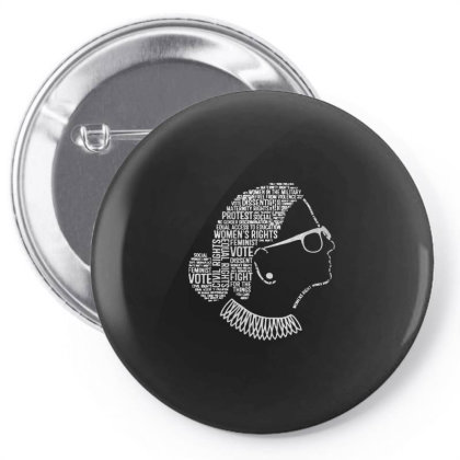 Notorious Rbg    Quotes Pin-back Button Designed By Kevin Design