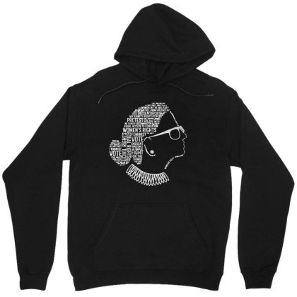 Notorious Rbg    Quotes Unisex Hoodie Designed By Kevin Design