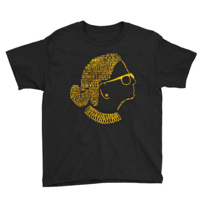 Rbg Quote Youth Tee Designed By Kevin Design