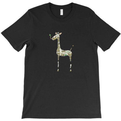 Giraffe T-shirt Designed By Jonathanz