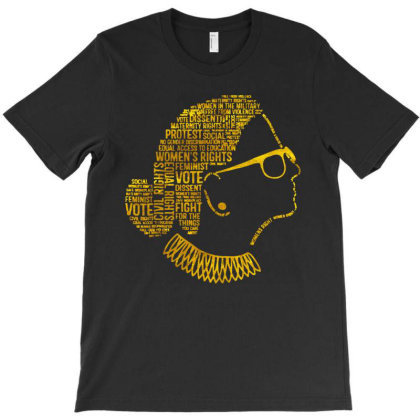 Rbg Quote T-shirt Designed By Kevin Design