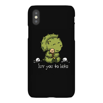 Luv You To Bits Iphonex Case Designed By Jonathanz