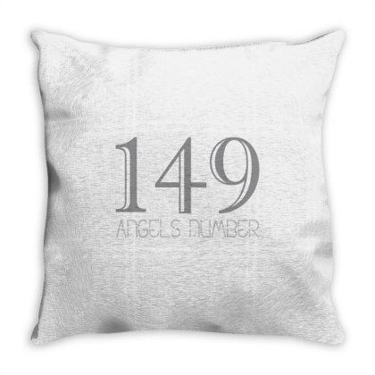 149 Angels Number Throw Pillow Designed By Anvist Store
