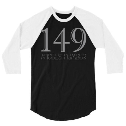 149 Angels Number 3/4 Sleeve Shirt Designed By Anvist Store