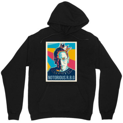 Awesome Vintage Notorious Rbg Unisex Hoodie Designed By Kevin Design