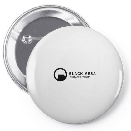 Black Mesa Pin-back Button Designed By Jonathanz