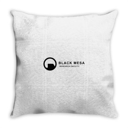 Black Mesa Throw Pillow Designed By Jonathanz