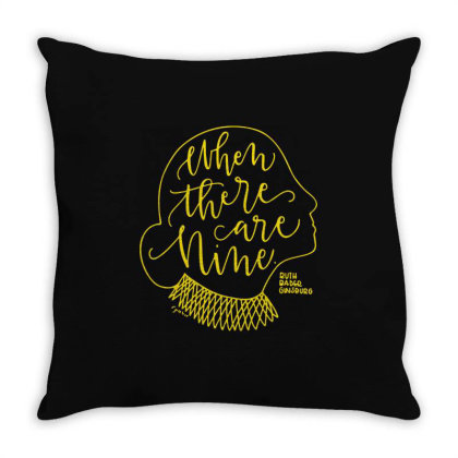 Rgb When There Are Nine Throw Pillow Designed By Kevin Design