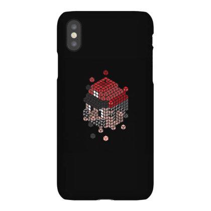 Blockhead Iphonex Case Designed By Jonathanz