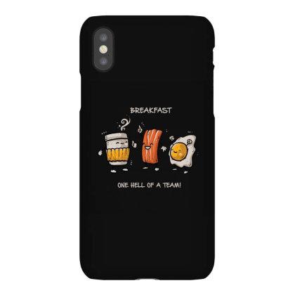 Breakfast Iphonex Case Designed By Noajansson