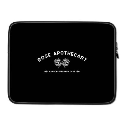 Rose Apothecary   White Laptop Sleeve Designed By Kevin Design