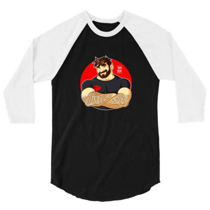 Bobo Bear 3/4 Sleeve Shirt Designed By Noajansson