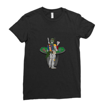 Boba Bet Ladies Fitted T-shirt Designed By Noajansson
