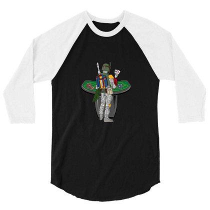 Boba Bet 3/4 Sleeve Shirt Designed By Noajansson