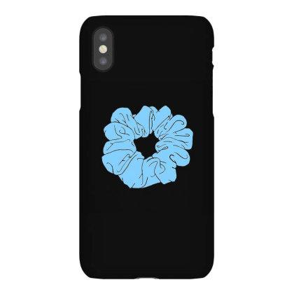 Blue Scrunchie Iphonex Case Designed By Noajansson