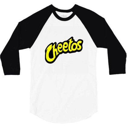 Cheetos 3/4 Sleeve Shirt Designed By Noajansson