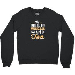 musical5 and tea Crewneck Sweatshirt | Artistshot