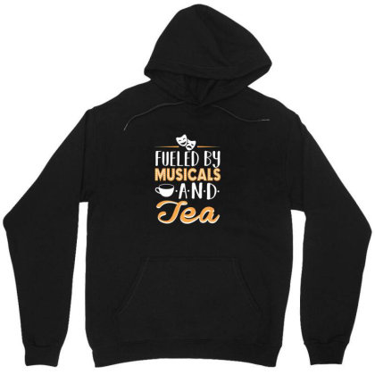 Musical5 And Tea Unisex Hoodie Designed By Noajansson