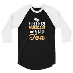 musical5 and tea 3/4 Sleeve Shirt | Artistshot