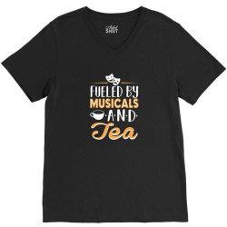 musical5 and tea V-Neck Tee | Artistshot
