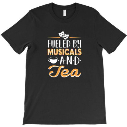 Musical5 And Tea T-shirt Designed By Noajansson