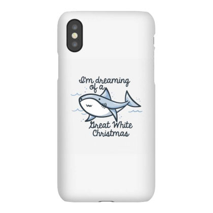 Christmas Shark Iphonex Case Designed By Brittnicarlson