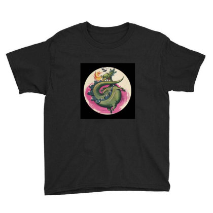 Puff The Magic Dragon Youth Tee Designed By Valeria667