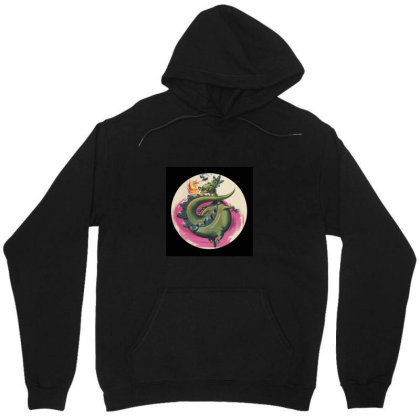 Puff The Magic Dragon Unisex Hoodie Designed By Valeria667