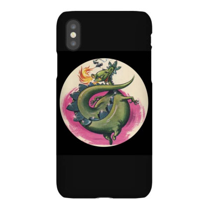 Puff The Magic Dragon Iphonex Case Designed By Valeria667