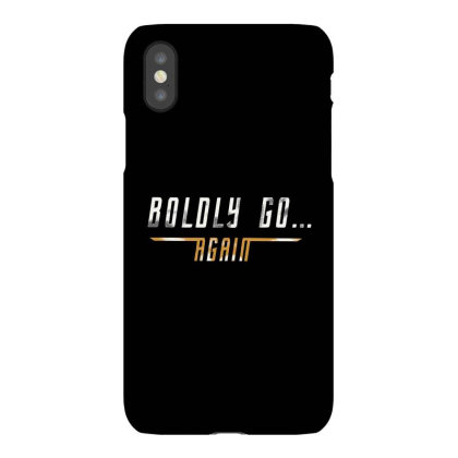 Boldly Go Again Iphonex Case Designed By Jakobsson