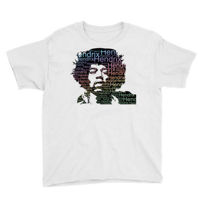 Jimi Hendrix Youth Tee Designed By Schulz-12