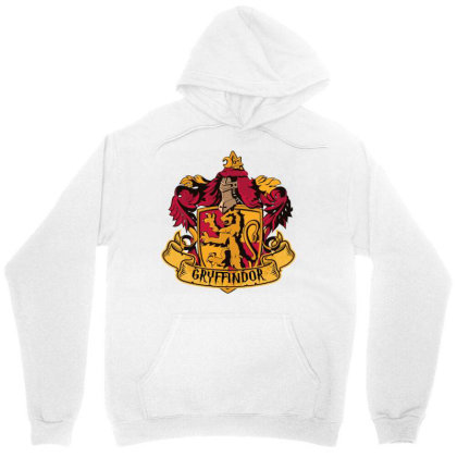 Gryffindor Crop Top Unisex Hoodie Designed By Schulz-12