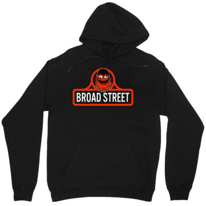 Gritty Broad Street Unisex Hoodie Designed By Schulz-12