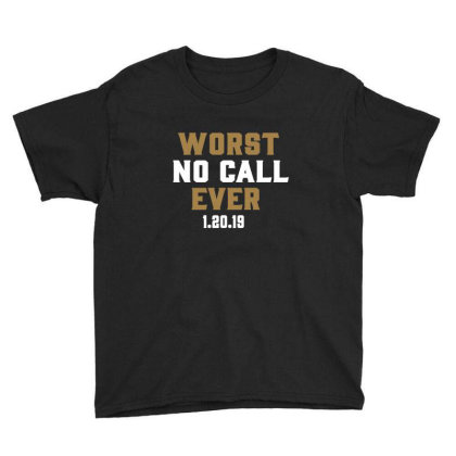 Worst No Call Ever Youth Tee Designed By Jakobsson