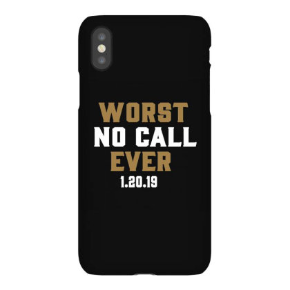 Worst No Call Ever Iphonex Case Designed By Jakobsson