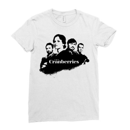 Cranberries Ladies Fitted T-shirt Designed By Schulz-12