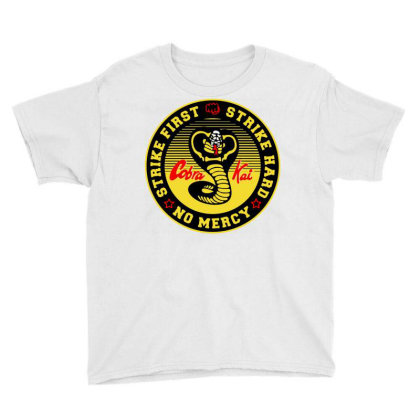 Cobra Kai The Karate Youth Tee Designed By Schulz-12