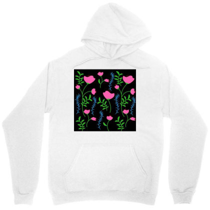 Pink Poppy Flower Design Unisex Hoodie Designed By American Choice
