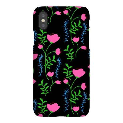 Pink Poppy Flower Design Iphonex Case Designed By American Choice