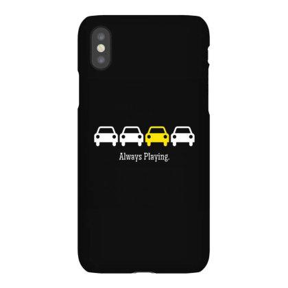Always Playing Iphonex Case Designed By Elijahbiddell