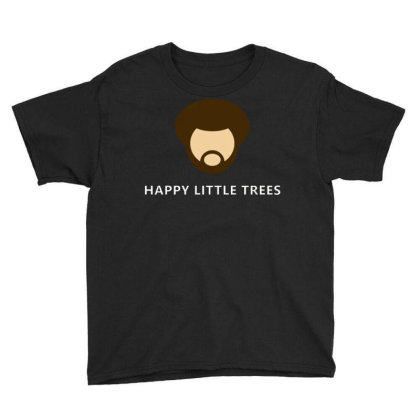 Bob Ross Baby Youth Tee Designed By Schulz-12