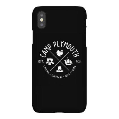 Camp Plymouth Iphonex Case Designed By Elijahbiddell