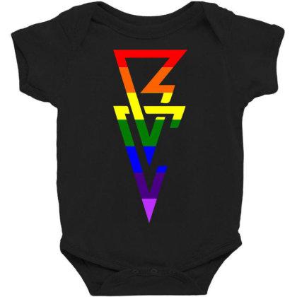 Balor Club Lgbt Flag Baby Bodysuit Designed By Schulz-12