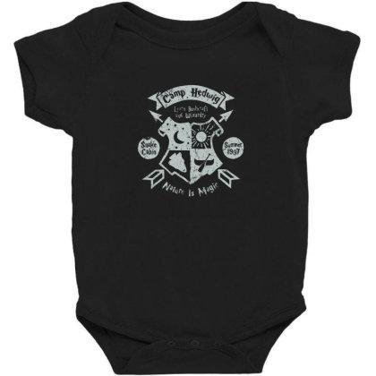 Camp Hedwing Baby Bodysuit Designed By Elijahbiddell