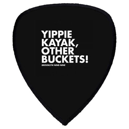 Yippie Kayak Shield S Patch Designed By Elijahbiddell