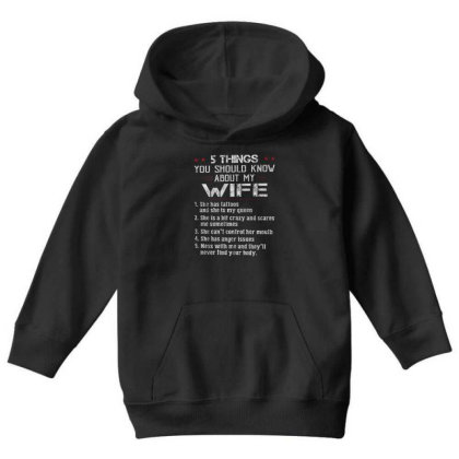 5 Things You Should Know Youth Hoodie Designed By Schulz-12